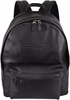 Coach F54786 Black Leather Campus Rucksack Backpack