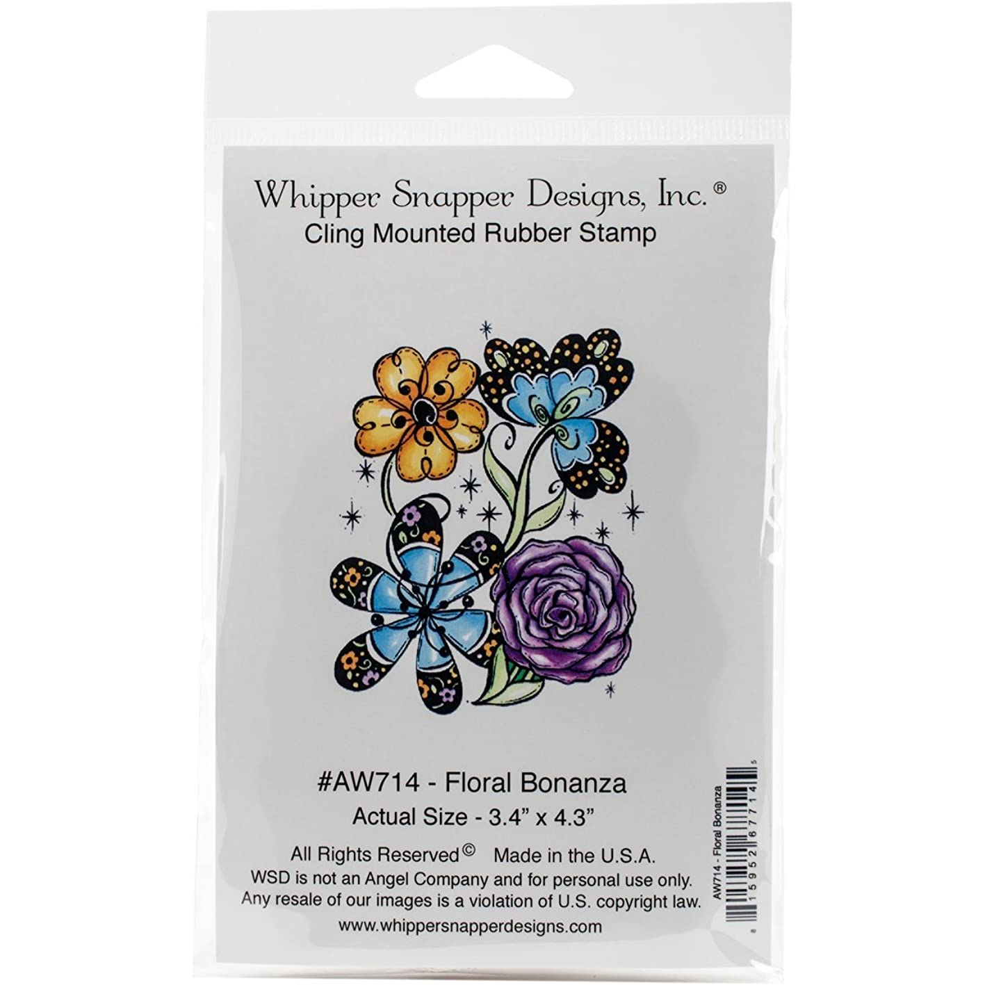 Whipper Snapper Designs Whipper Snapper Cling Stamp 4