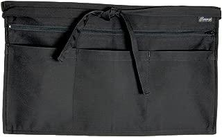 Full Zip Multi Pocket Apron Black O/s