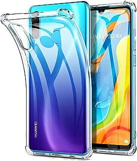Msova Huawei P30 lite ケース ソフト Huawei P30 lite Premium HWV33 クリアカバー メッキ加工 衝撃吸収 傷つけ防止 365日交換 クリア