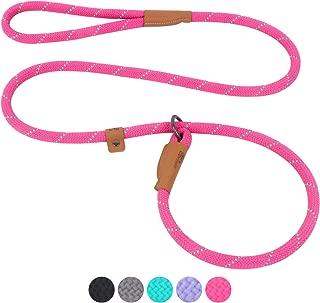 leather slip lead leash
