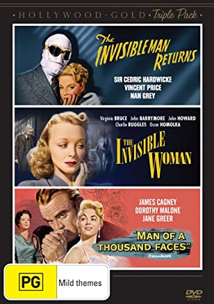 Hollywood - Gold: The Invisible Man Returns / The Invisible Woman / Man of  a Thousand Faces
