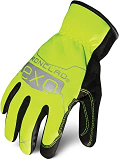 Ironclad EXOT-PSUY-03-M Tactical Public Safety Utility Glove, Medium, Yellow