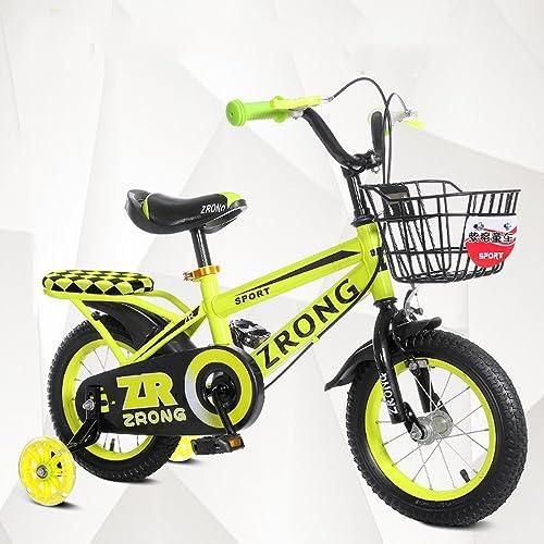 toma Bicicletas YANFEI YANFEI YANFEI Niños azul rojo amarillo Tamaños  12 Pulgadas, 14 Pulgadas, 16 Pulgadas, 18 Pulgadas Excursión Al Aire Libre Regalo para Niños  cómodo