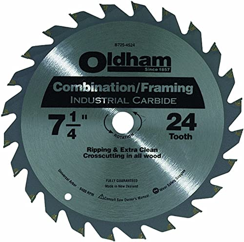 high quality Oldham wholesale B7254524-10 discount Industrial Carbide Tipped Circular Blade, 10-Pack outlet online sale
