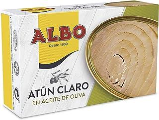 comprar comparacion Albo - Atún claro en aceite de oliva - 112 g - Pack de 8