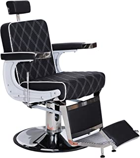 Best black and white barber chair Reviews
