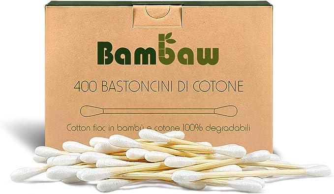 1650 opinioni per Cotton Fioc | Cotton Fioc ecologici | Tamponi di Cotone | Bastoncini in legno |