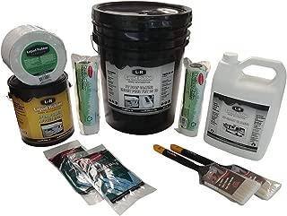 Liquid Rubber RV Roof Repair Kit, White 5 Gallon