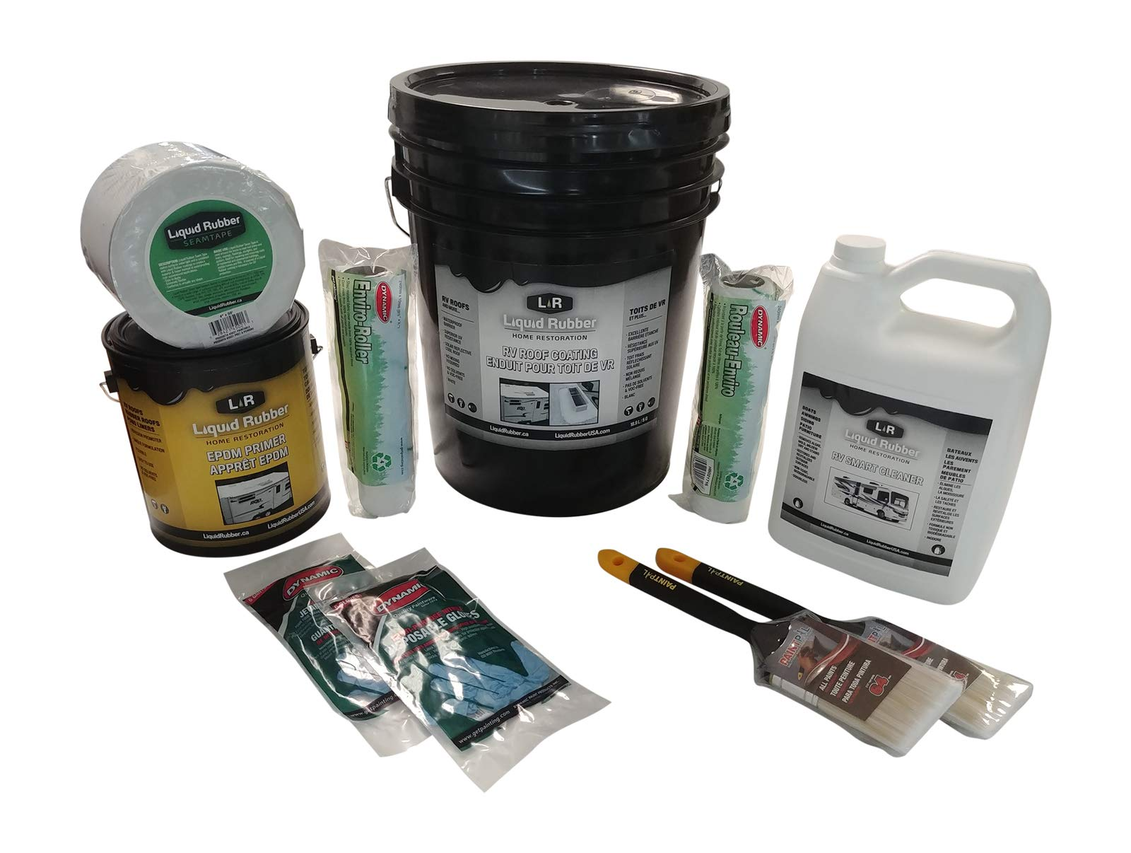 Liquid Rubber Repair White Gallon