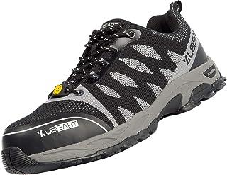 Steel Toe Work Safety Shoes for Men, Lightweight Work...