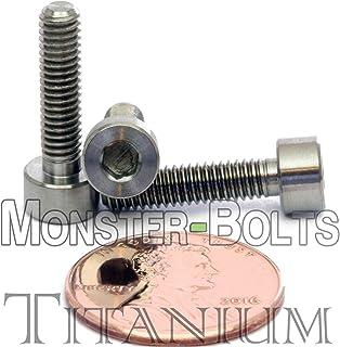 4mm x 0.70 x 16mm - Titanium Socket Head Cap Screw - DIN 912 Grade 5 Ti M4 Hex