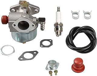 OxoxO Reemplaza 632795A Carburetor Imprimación Bujía Bombilla Bujía para Tecumseh 632046A 632078A 632099 TVS90 TVS105 TVS115 TVS120 TVS75 TVS100 ECV100 Motor