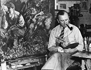 Posterazzi George Grosz (1893-1959). /Namerican (German Born) Painter. Painting `Cain` At Long Island New York In 1944. Po...