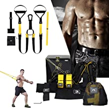 GT P3 PRO Training Suspension Trainer Home Gym Resistance bands Hanging Belt Sport Gym Workout Fitness Suspension Exercise...