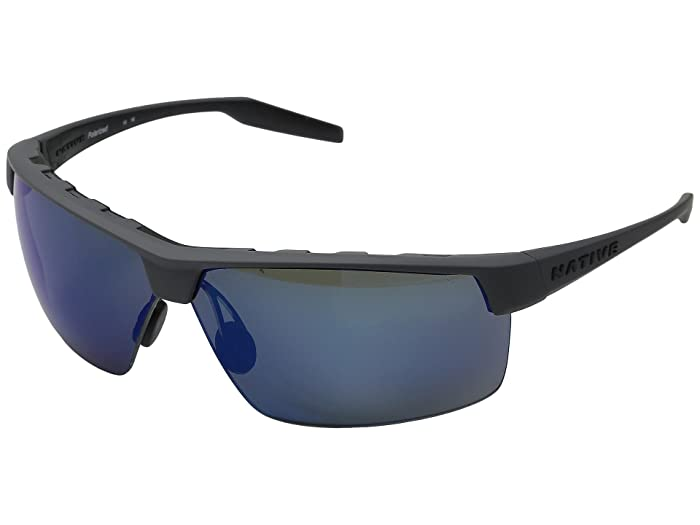 Native Eyewear Hardtop Ultra XP (Granite/Blue Reflex) Sport Sunglasses