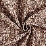 Anzug und Kostümstoff Tweed Optik – braun — Meterware