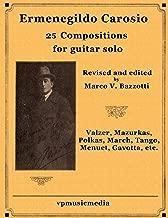 Ermenegildo Carosio - 25 Compositions for guitar solo