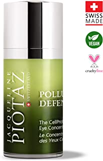 The CellProtect Eye Concentrate by Jacqueline Piotaz - Hydrating Cooling Gel, Anti-Aging Formula, Removes W...