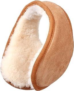 گوشهای گوش گوش گوسفند زمستانی ، گرمکن گوش پشمی استرالیایی ، محافظ گوش نرم کلاسیک در فضای باز ، یک سایز