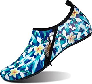 JIASUQI Womens Mens Outdoor Aqua Water Shoes Socks Beach Swimming Yoga Exercise