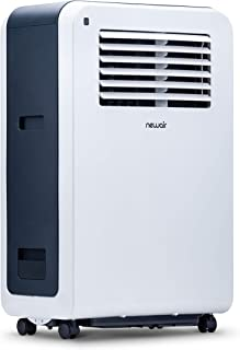 NewAir Portable Air Conditioner & Fan Compact Size, Cools up to 425 sq ft, 12000 BTU, AC-12200E, White