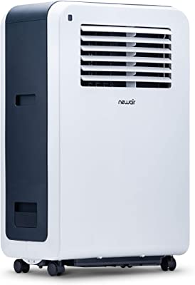 NewAir, AC-12200E, Compact Portable Air Conditioner and Fan, 12,000 BTU, 425 Square Foot Effective Range, White