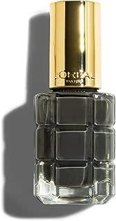 L'Oreal Paris Color Riche Huile Nail Polish 672 Noir Oxyde