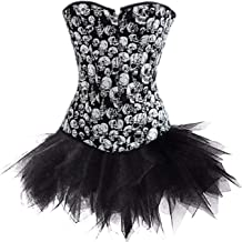 Corsage Festival Young Fashion Body Shaper Gothic ...