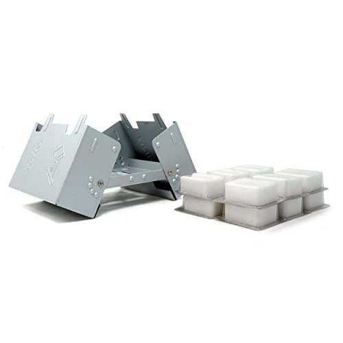 Esbit Large Ultralight Folding Pocket Stove with 12 14gm Solid Fuel Tablets d21a96ca103