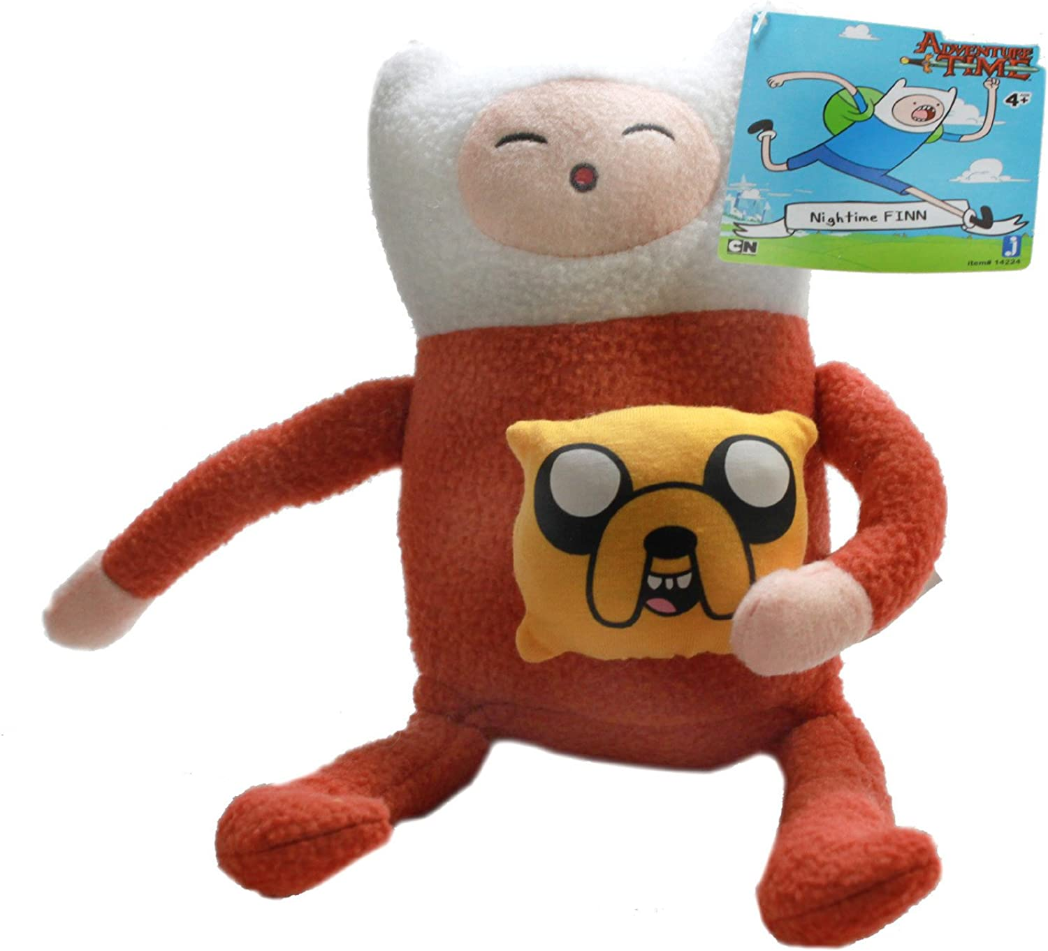 Jazwares Adventure Time 10  Plush Finn in Pajamas