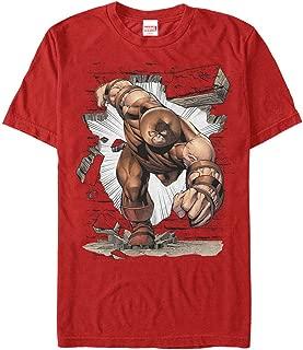 Marvel Men's X-Men Juggernaut Crash T-Shirt