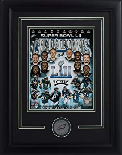 Philadelphia Eagles Framed 8x10 Super Bowl 52 Team Collage Photo