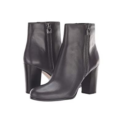 MICHAEL Michael Kors Margaret Bootie (Charcoal Polished Cow Leather) Women