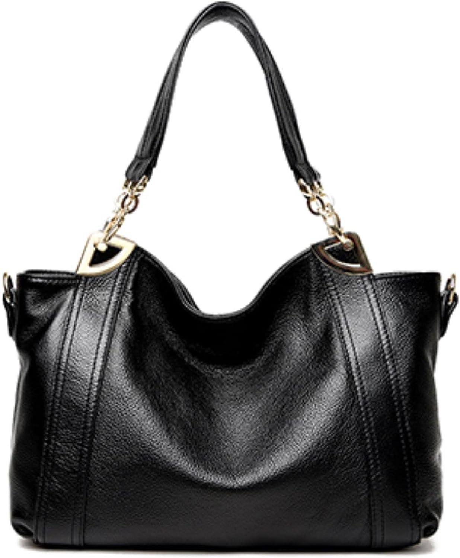 Ladies Genuine Leather Bags Handbags Women Bag Ladies Designer Crossbody Bags Black Sac