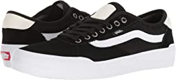 (Suede/Canvas) Black/White