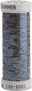 Sulky Sliver Metallic Thread for Sewing, 250 yd, Dark Pewter