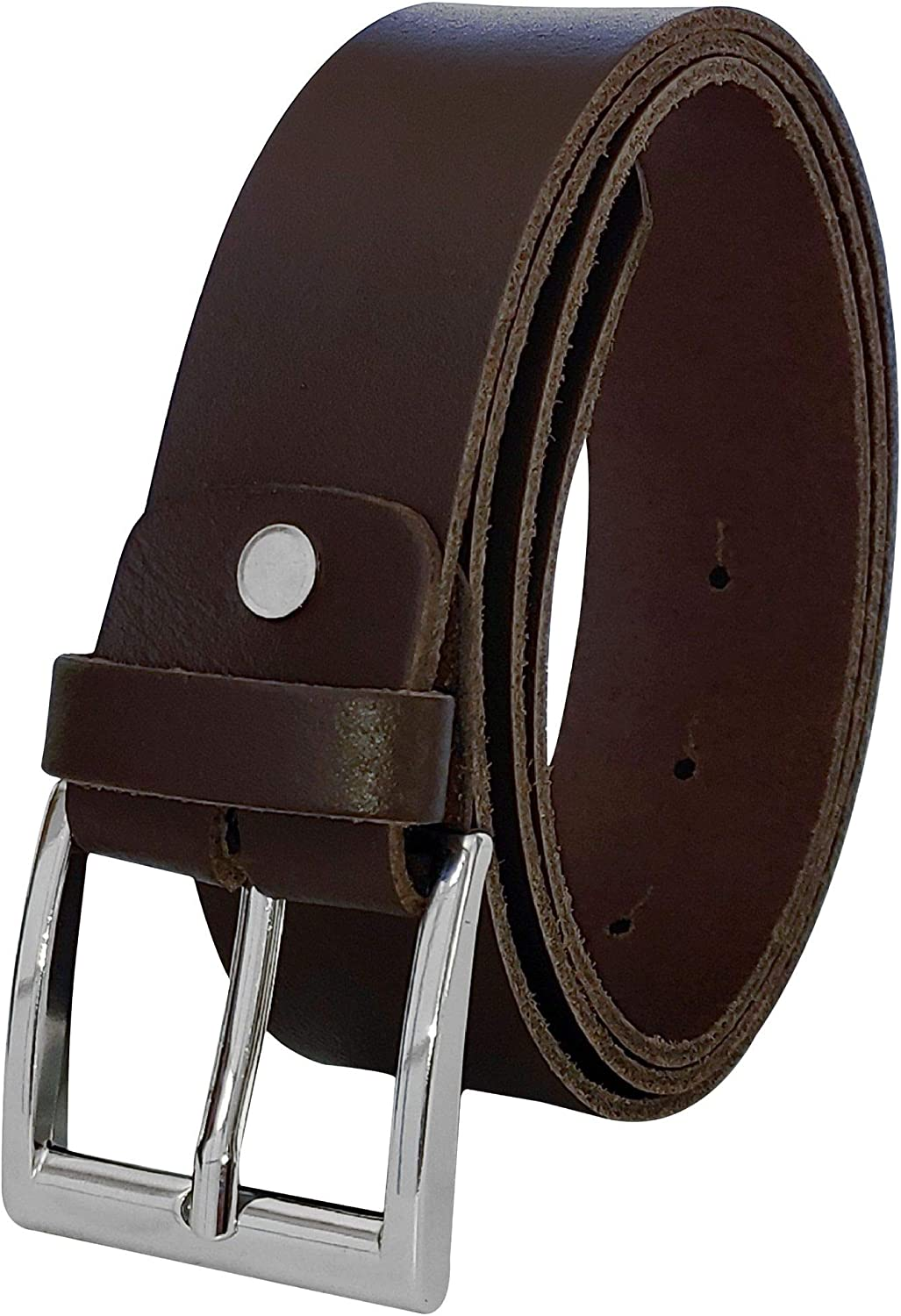 FRONHOFER classic Bargain men's belt 38mm bel silver New Shipping Free Shipping wide leather 100%
