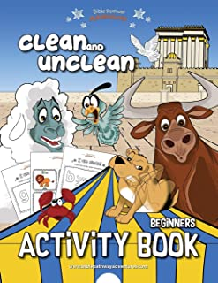 Clean and Unclean Activity Book (Beginners)
