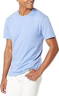 Men's Slim-Fit Short-Sleeve Crewneck Cotton T-Shirt
