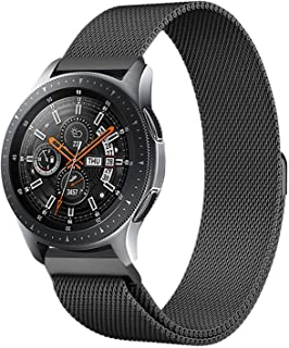 Stainless Steel Loop Strap Wrist Band For Smart Watch Samsung Galaxy Watch 46mm / Gear S3 Frontier and Classic - Space Black