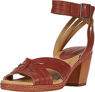 Lucky Brand Women's NOXA Heeled Sandal, Sumac, 6