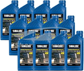 Yamaha 4-Stroke Engine Oil Case of (12) Quarts