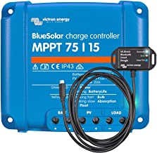 Victron BlueSolar 75/15 MPPT Charge Controller with VE.Direct Bluetooth Dongle