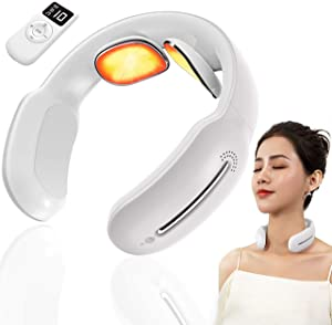 Blissify Neckology Neck Massager. Most Advanced Neckology Intelligent Neck Massager with Voice Assisted Controls. TENS Technology & Heating System to Simulate Human Massage. 3 Modes