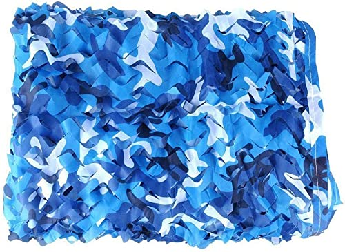 MCZYWzgl Filets De Prougeection Solaire Militaires Stores De Filet De Camouflage, Filet De Camouflage Marin, for La Chasse à La Photographie De Faune De Parasol (Couleur   bleu, Taille   8m×10m)