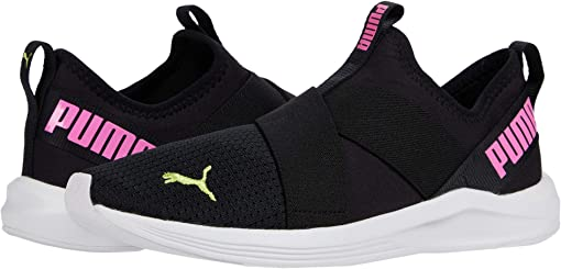 Puma Black/Fizzy Yellow/Luminous Pink