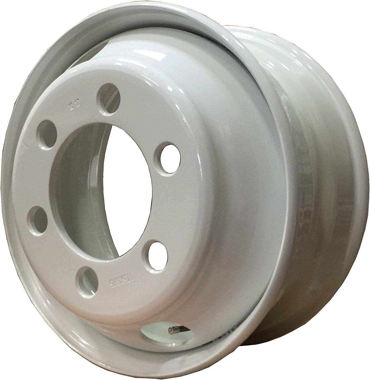 White Steel wheels 17.5X6.75 STUD Pilot Max 89% OFF fo PCD 5 ☆ popular 6X8.75