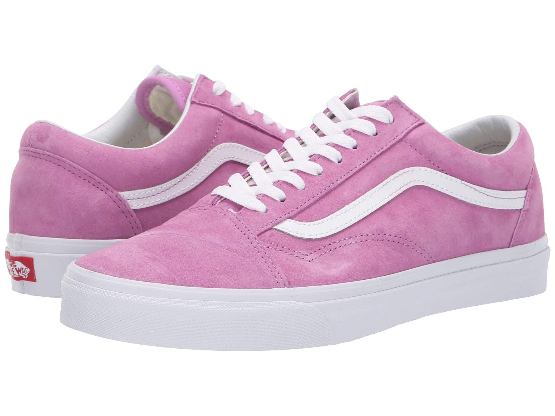 Vans Violet Old true White pig Skool™ Suede rwCqngrIR