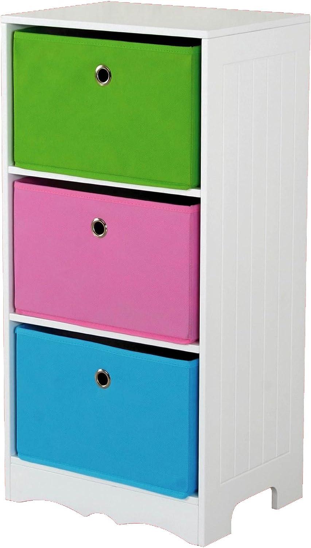 Home Basics Storage Shelf 特売 3-Drawer 未使用